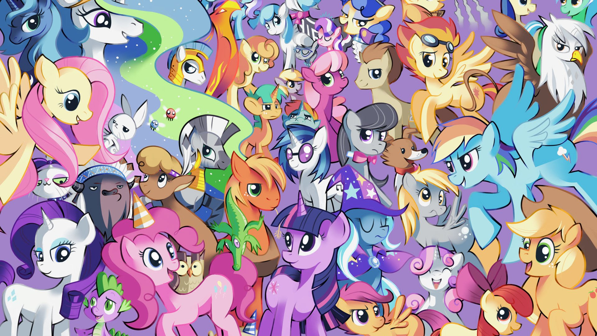 My Little Pony Desktop Wallpapers Posted By Michelle Johnson