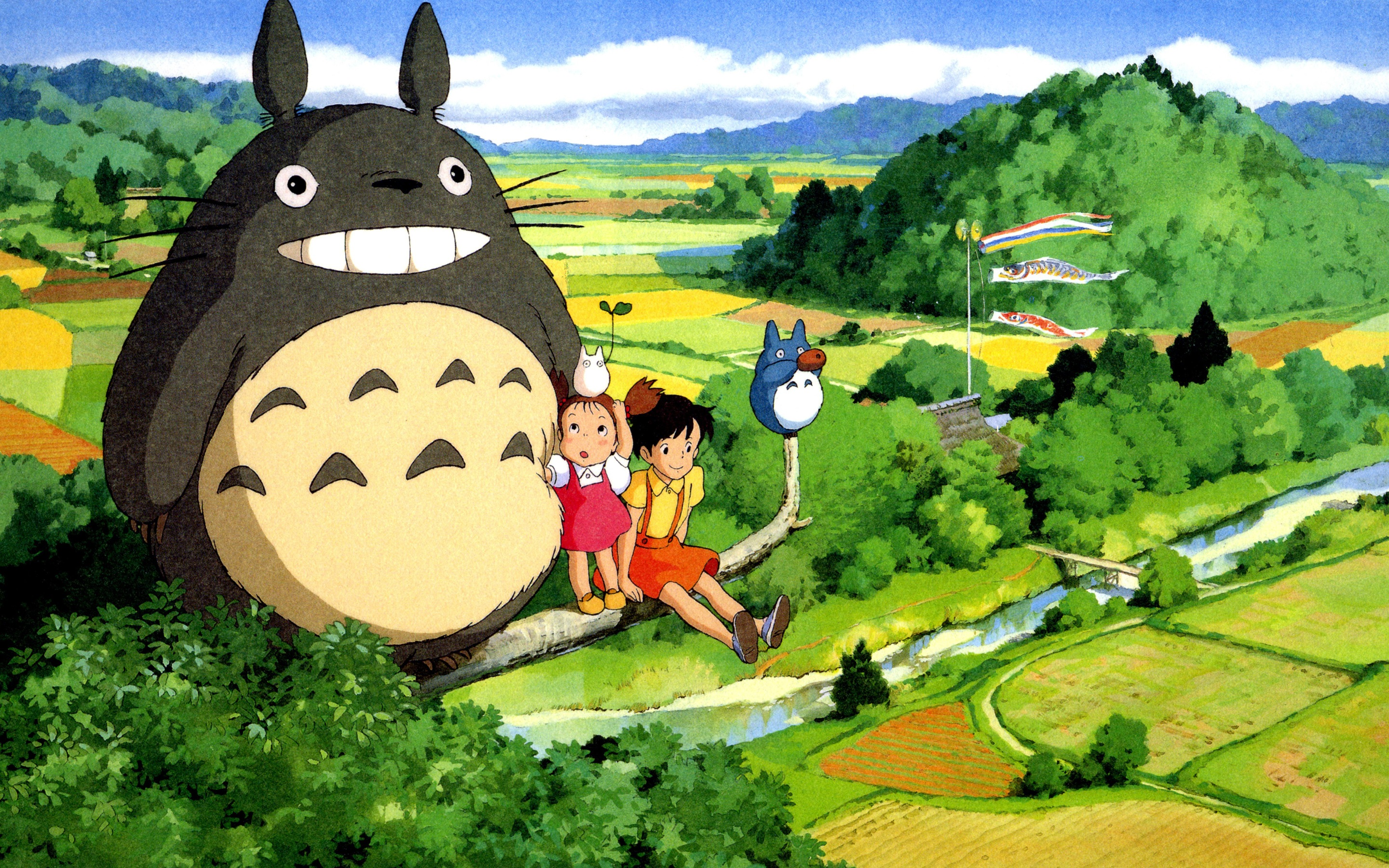 My Neighbor Totoro Hd Wallpapers Posted By Christopher Sellers