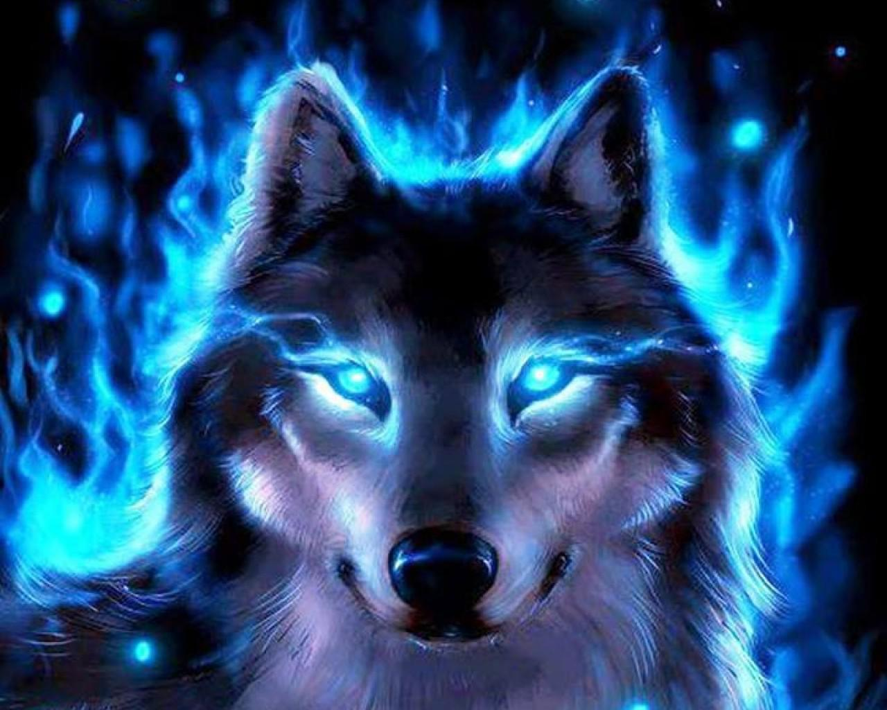 Mystic Wolf Wallpaper Posted By Ethan Simpson