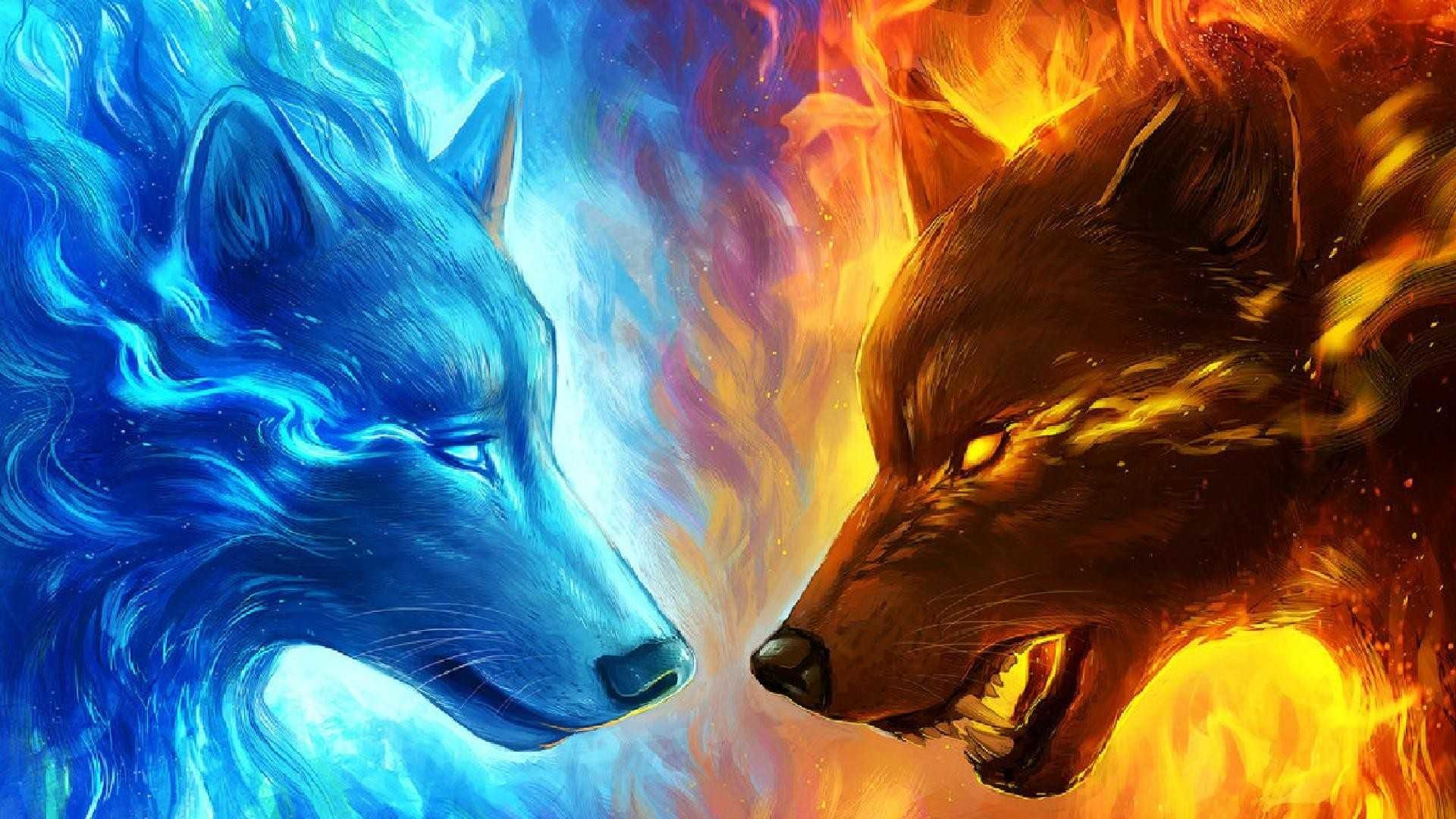 Mystical Wolf Wallpaper Posted By Sarah Mercado