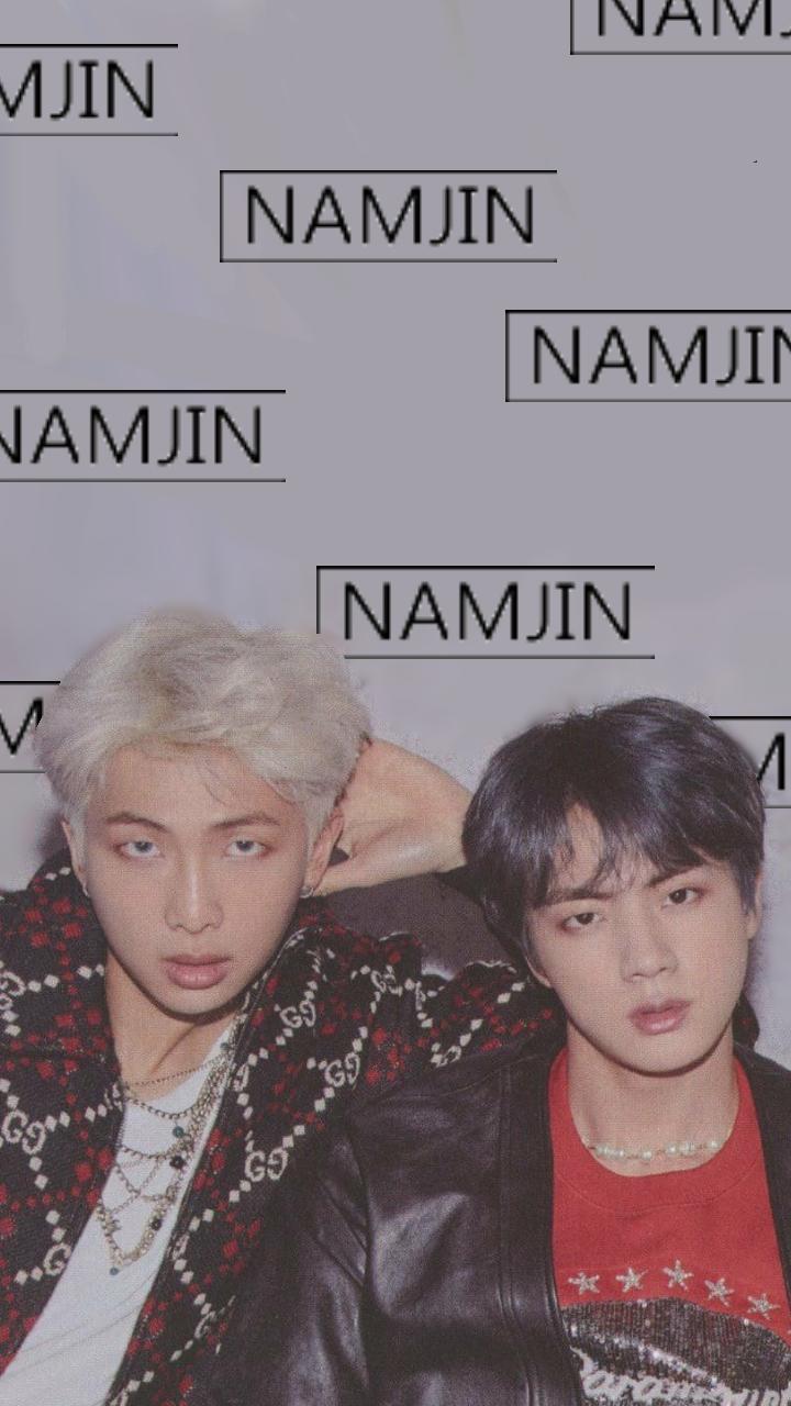 Namjin Wallpaper d namjin bts rm jin btsjin btsnamjoon