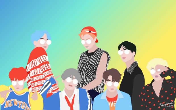 BTS DNA Desktop Wallpaper in 2019 Bts laptop wallpaper