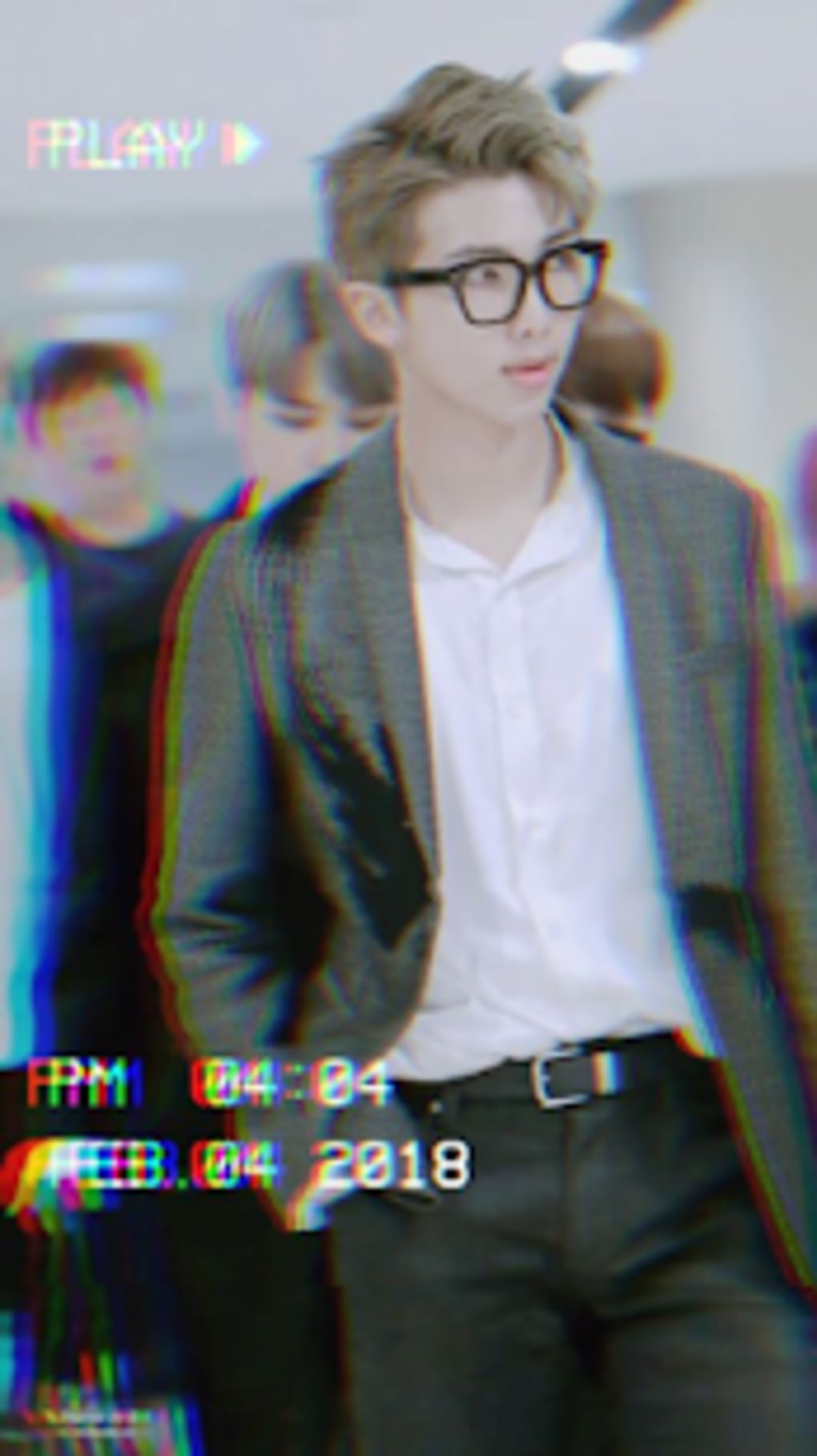 Bts Live Wallpaper Bts Namjoon With Glasses Hd Wallpapers