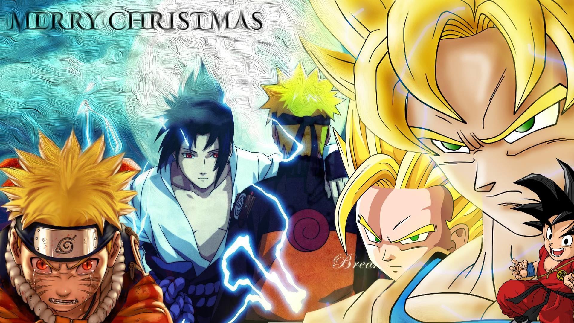 Naruto Christmas Wallpaper WallpaperTag