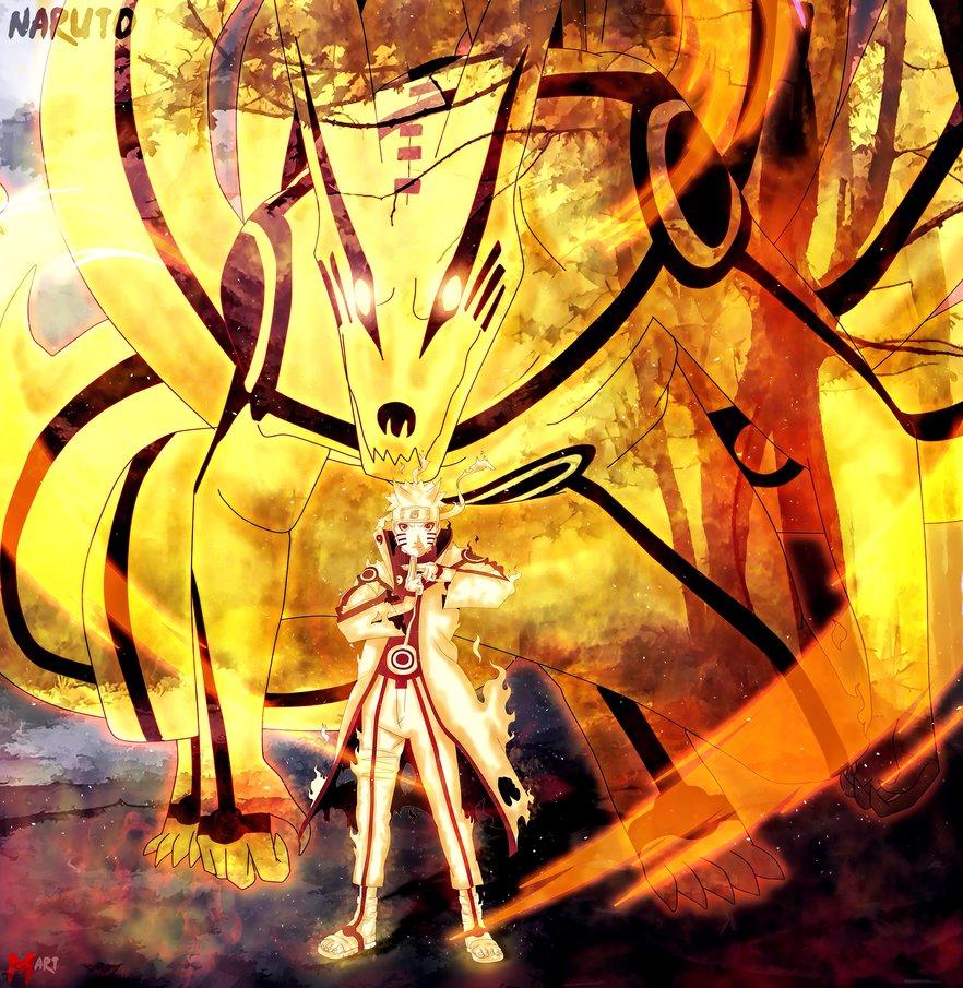 4k Naruto and Kurama Wallpapers For iPhone, Desktop and