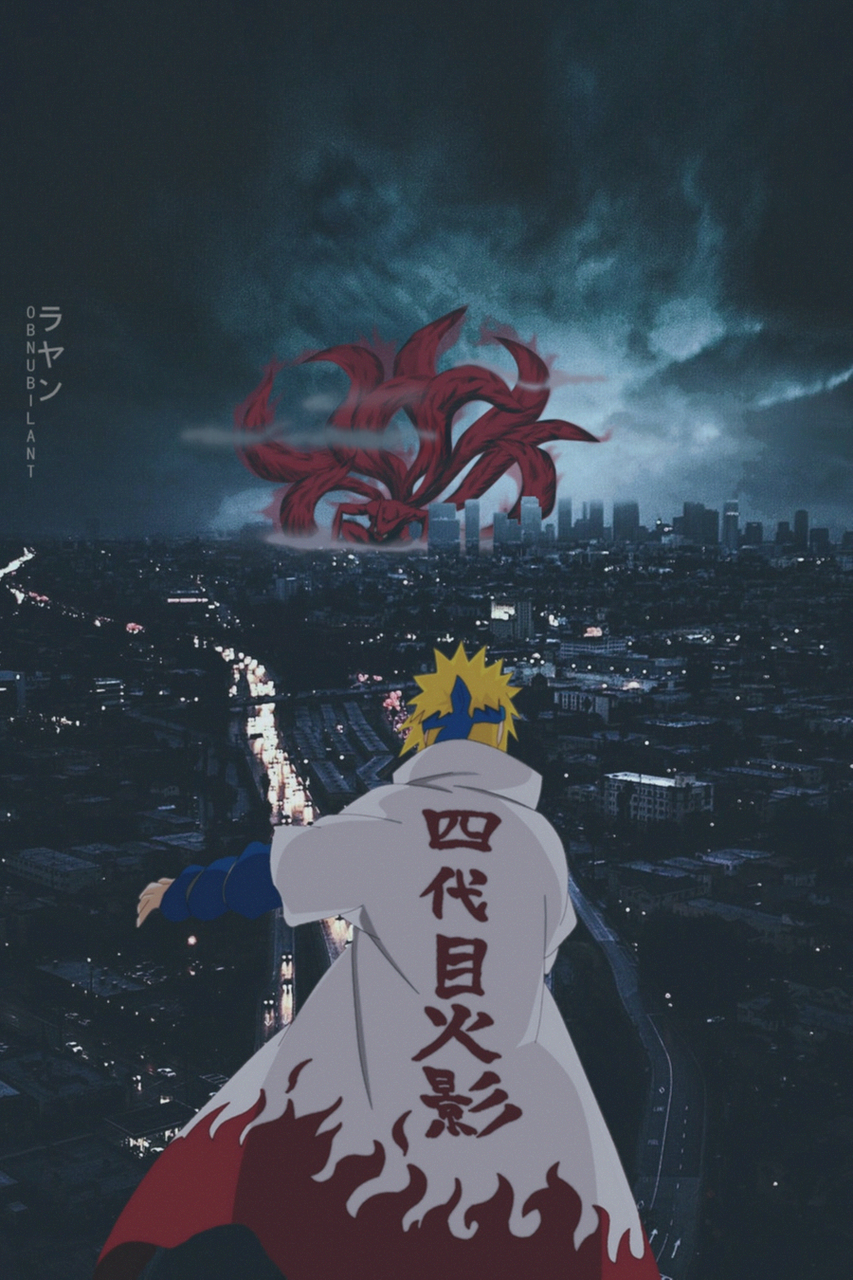 Naruto aesthetic wallpapers. Design by a Sa a l on We Heart It