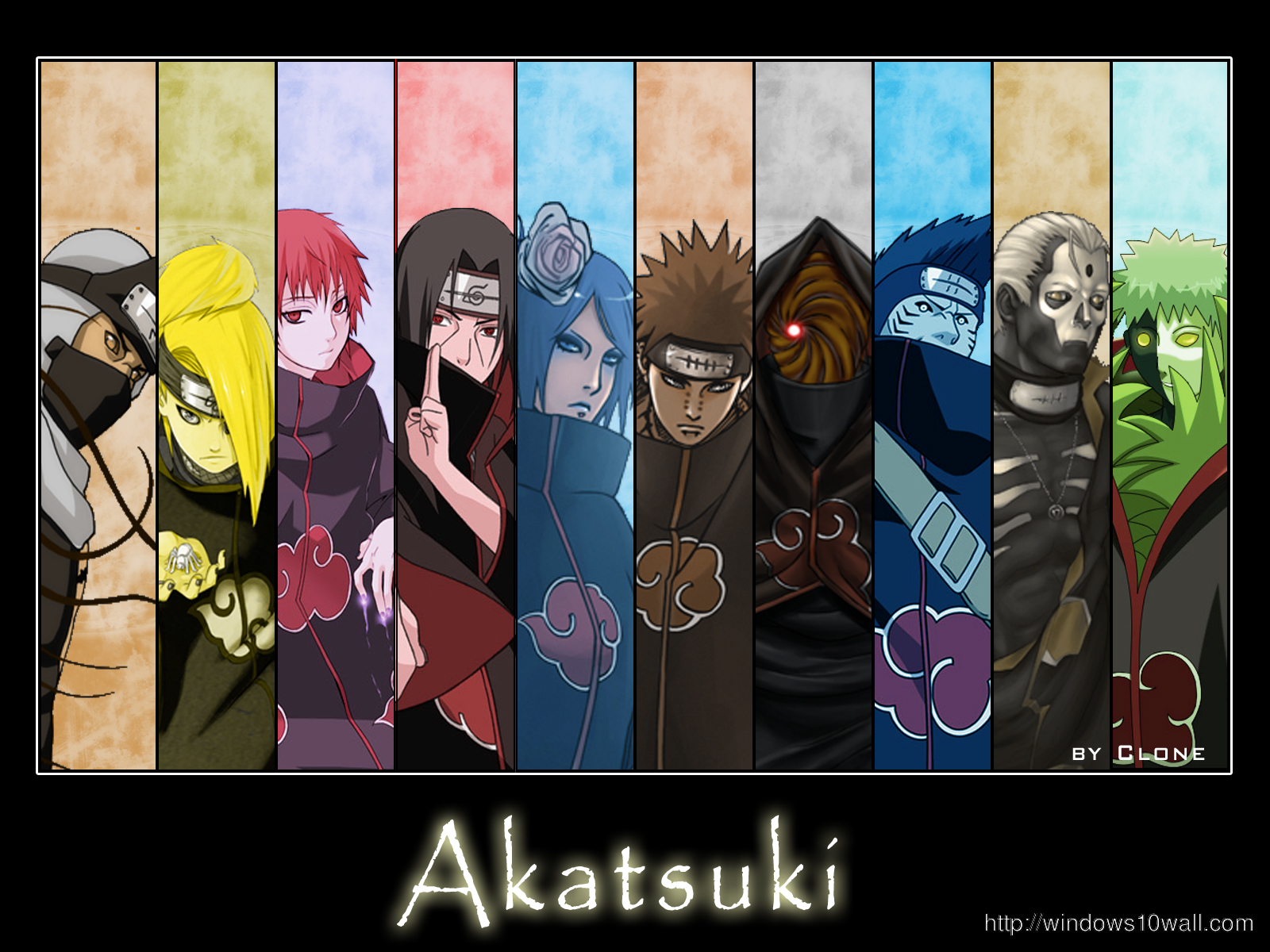 Naruto Akatsuki Wallpaper windows 10 Wallpapers