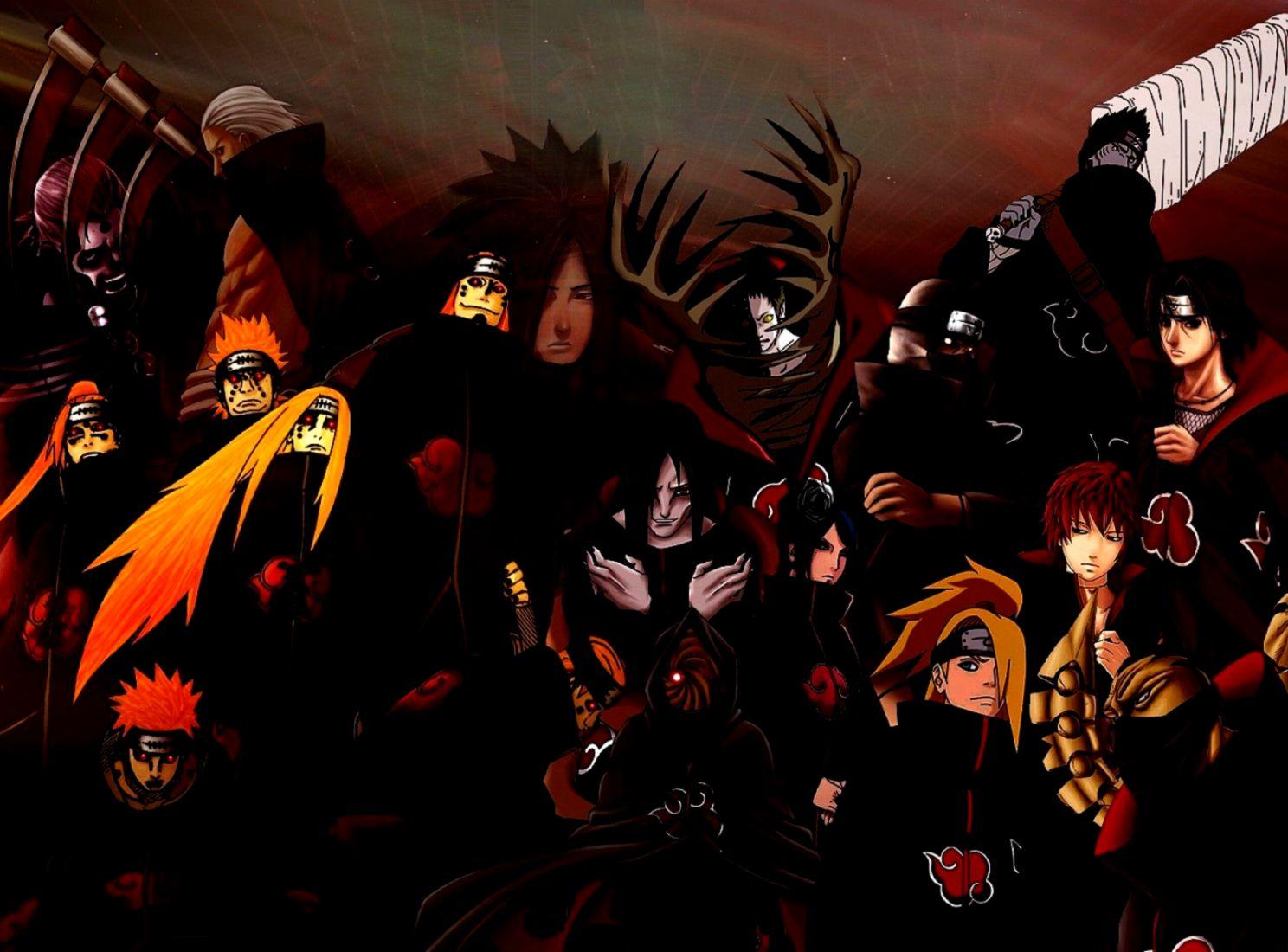 Naruto Akatsuki Wallpaper Posted By Zoey Peltier