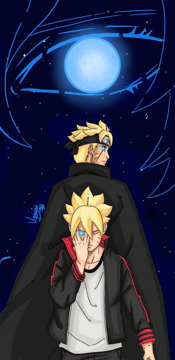 Naruto And Boruto Wallpaper Posted By Ethan Thompson
