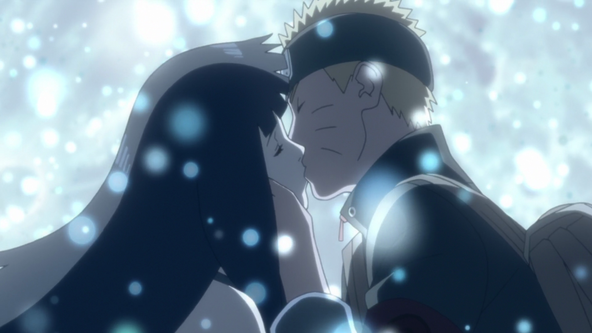 Naruto Hinata Kiss Hd Free Wallpaper Backgrounds