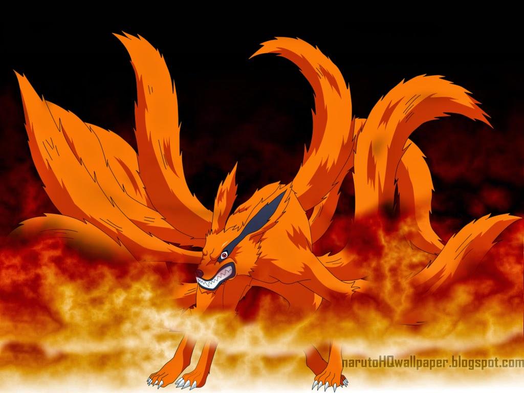 Kurama Kyuubi Nine Tailed Demon Fox Naruto Shippuden