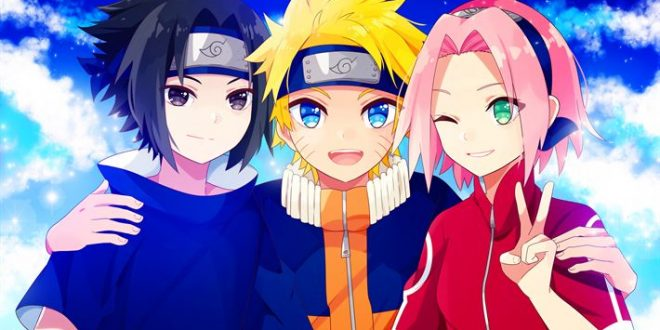 Download Wallpaper sasuke uchiha naruto uzumaki sakura
