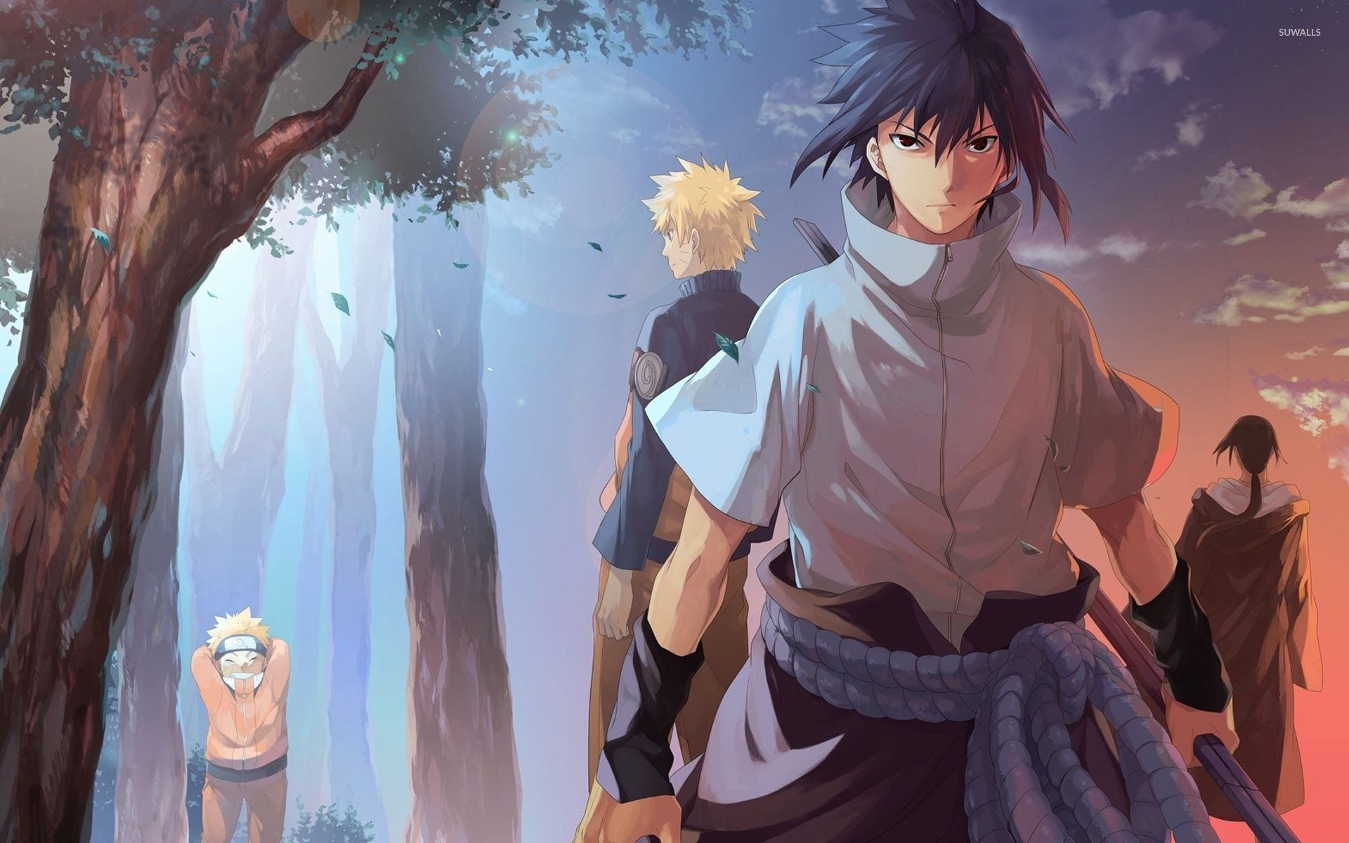 Naruto Vs Sasuke 4k Wallpaper Photo Click Wallpapers