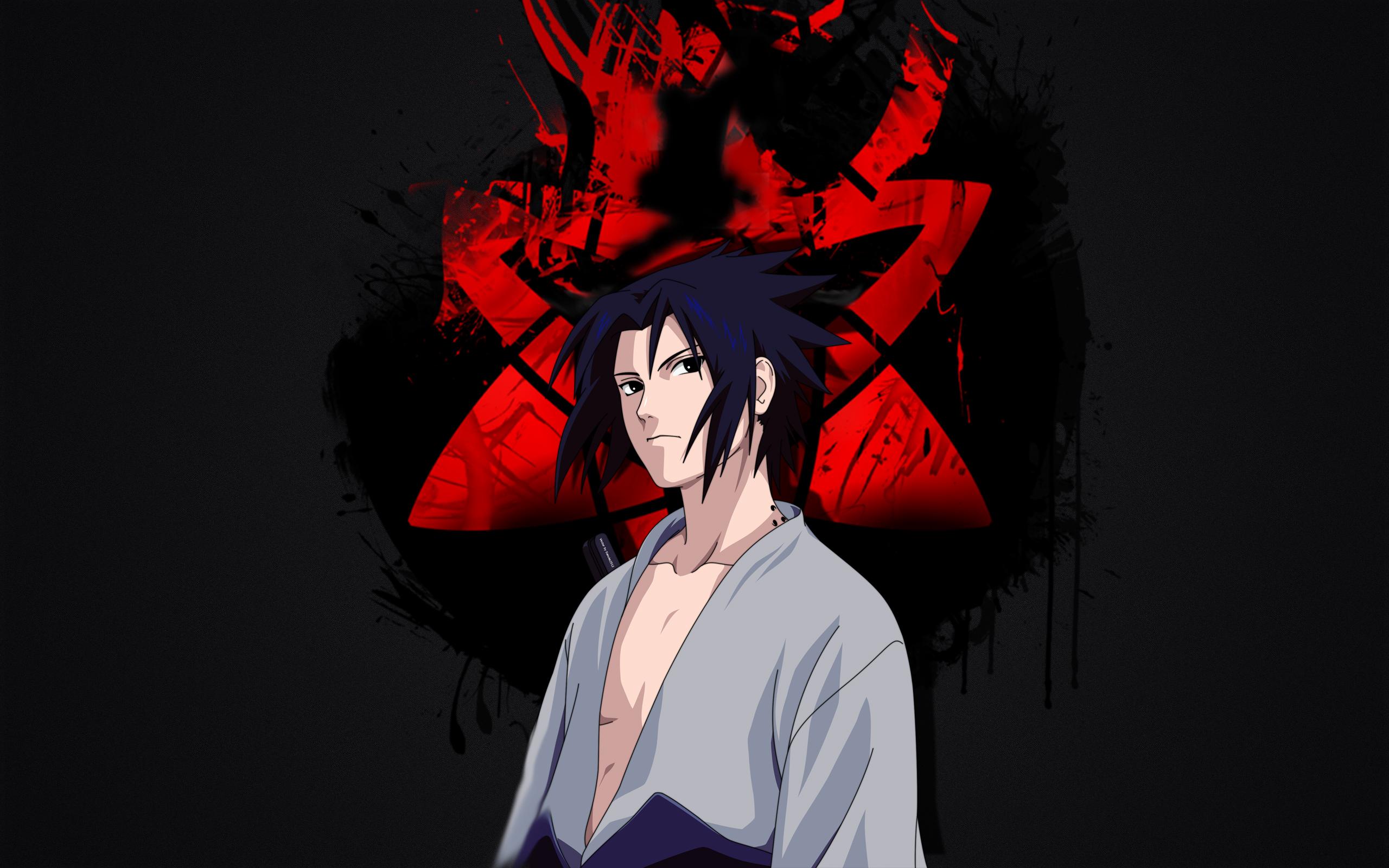 Wallpaper of Anime Naruto Sasuke Uchiha Sharingan