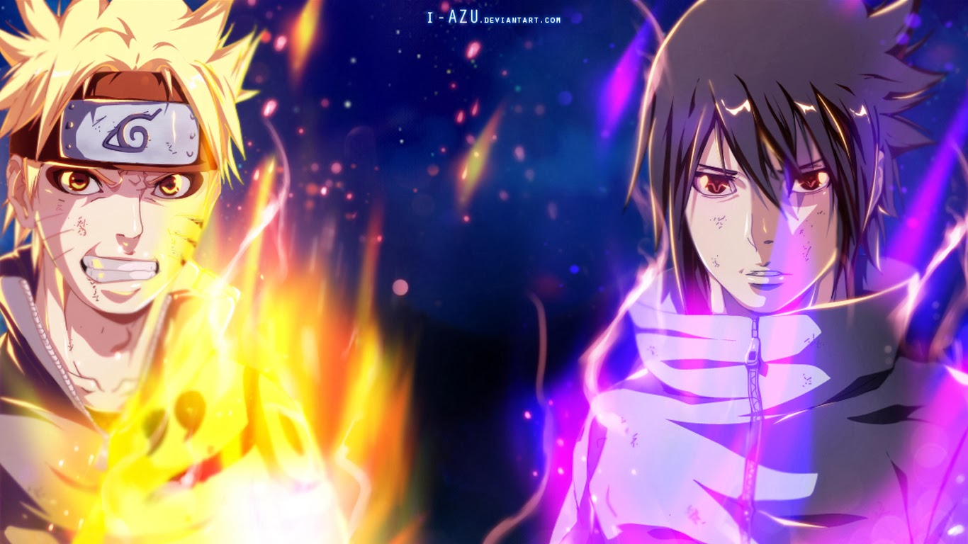 Free download Naruto and Sasuke Anime Picture 32 HD