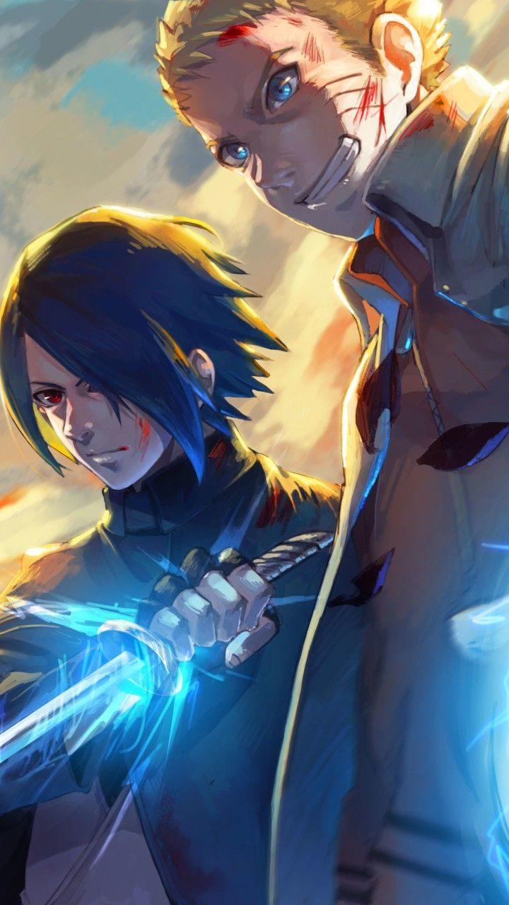 Wallpaper Phone Naruto And Sasuke Full HD Anime
