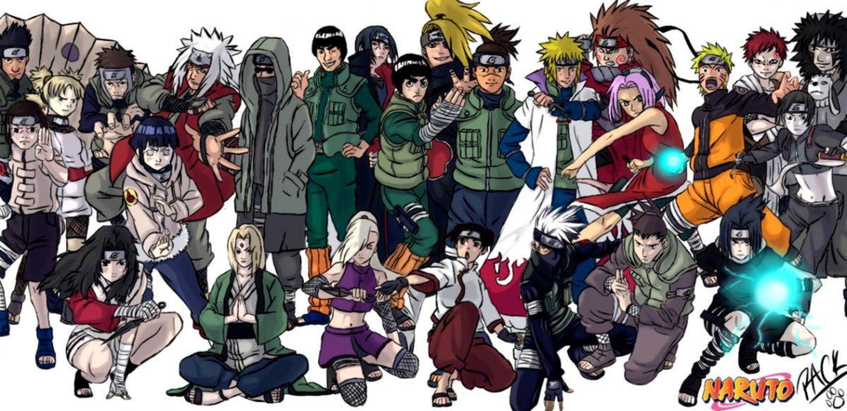 Naruto All Character Like Wallpapers