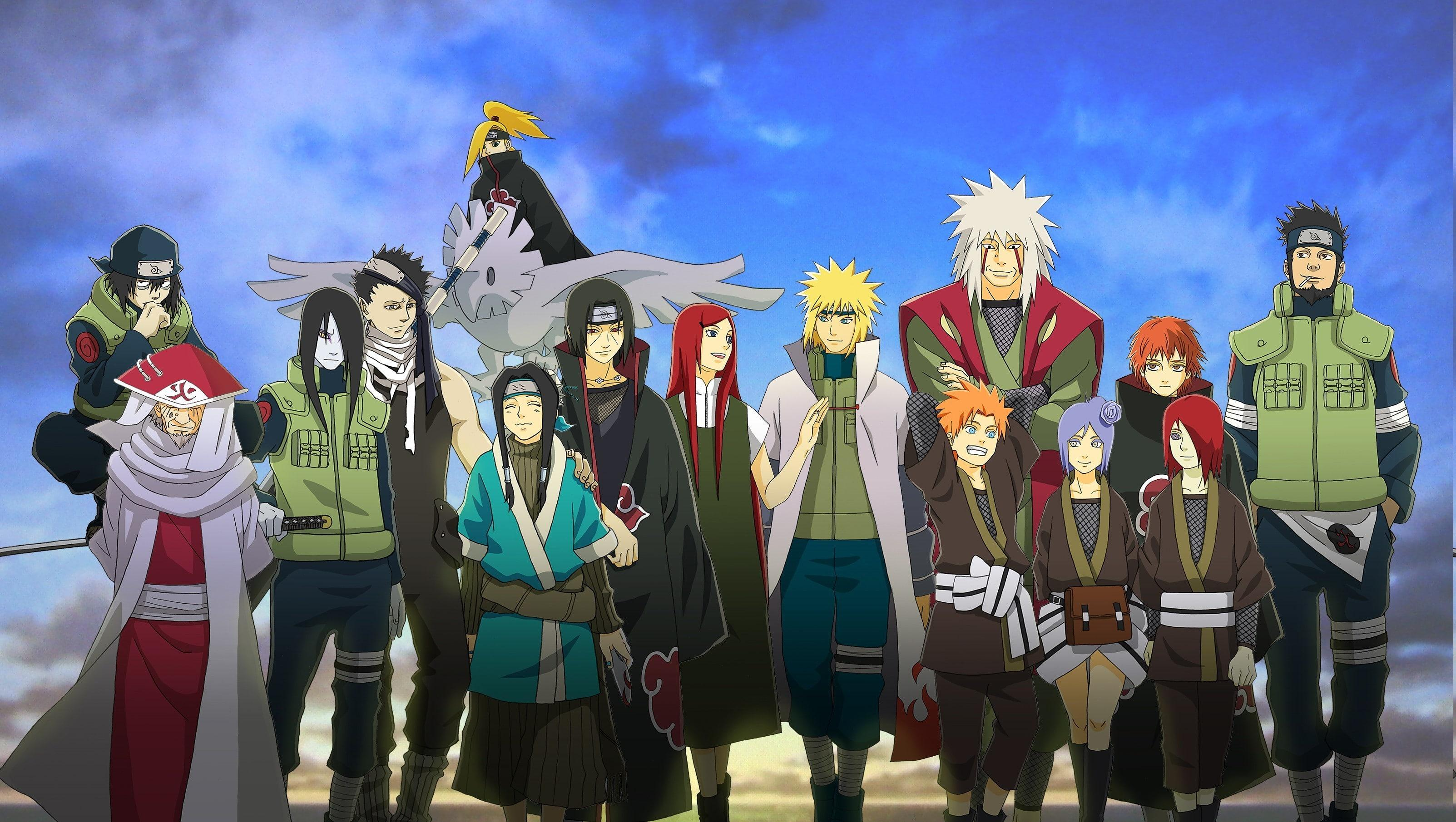 Naruto Characters Wallpaper Posted By Sarah Sellers