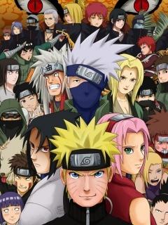 Download Naruto Cast Mobile Wallpaper Mobile Toones