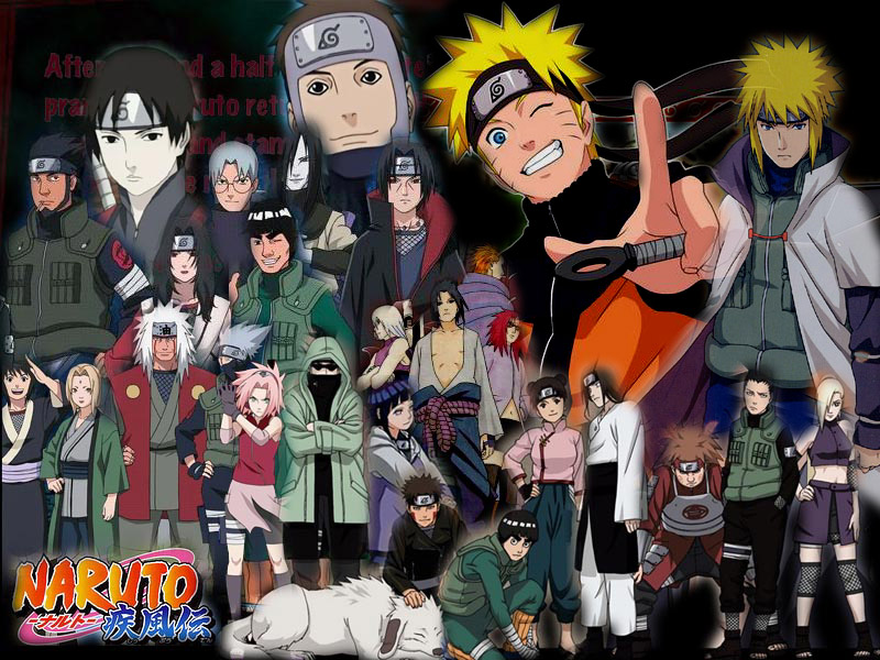 Naruto shippuden all characters wallpaper SF Wallpaper