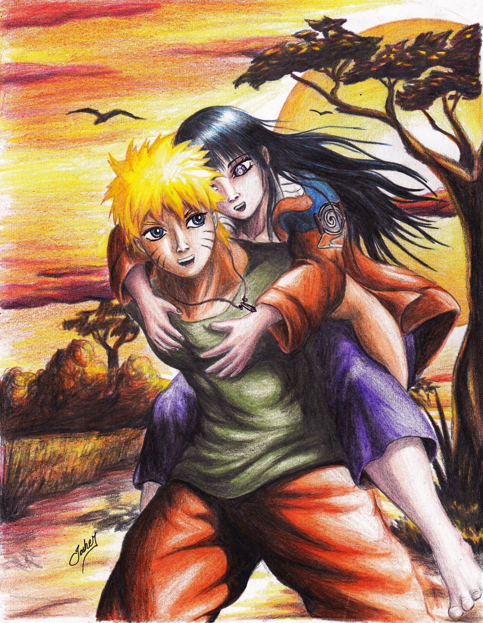 Naruto Dan Hinata Wallpapers Posted By Christopher Tremblay