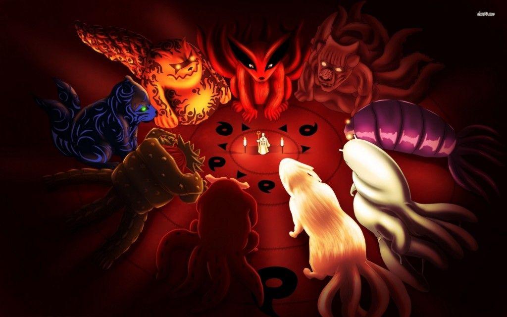 Naruto Desktop Wallpaper All Bijudama Anime Naruto High