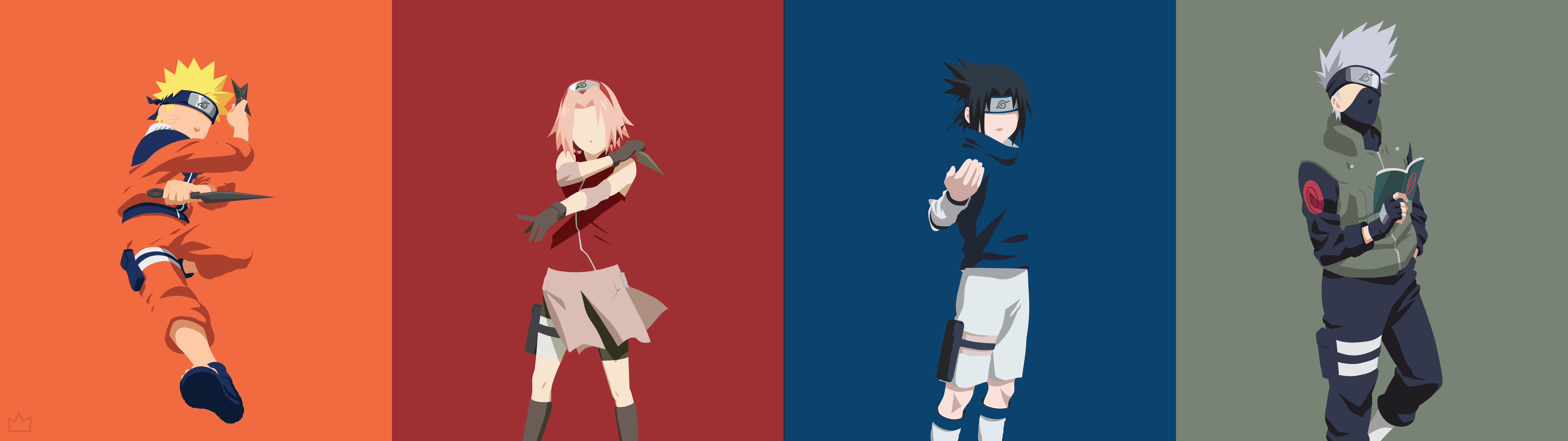 Naruto Dual Monitor Wallpaper Posted By Ethan Anderson