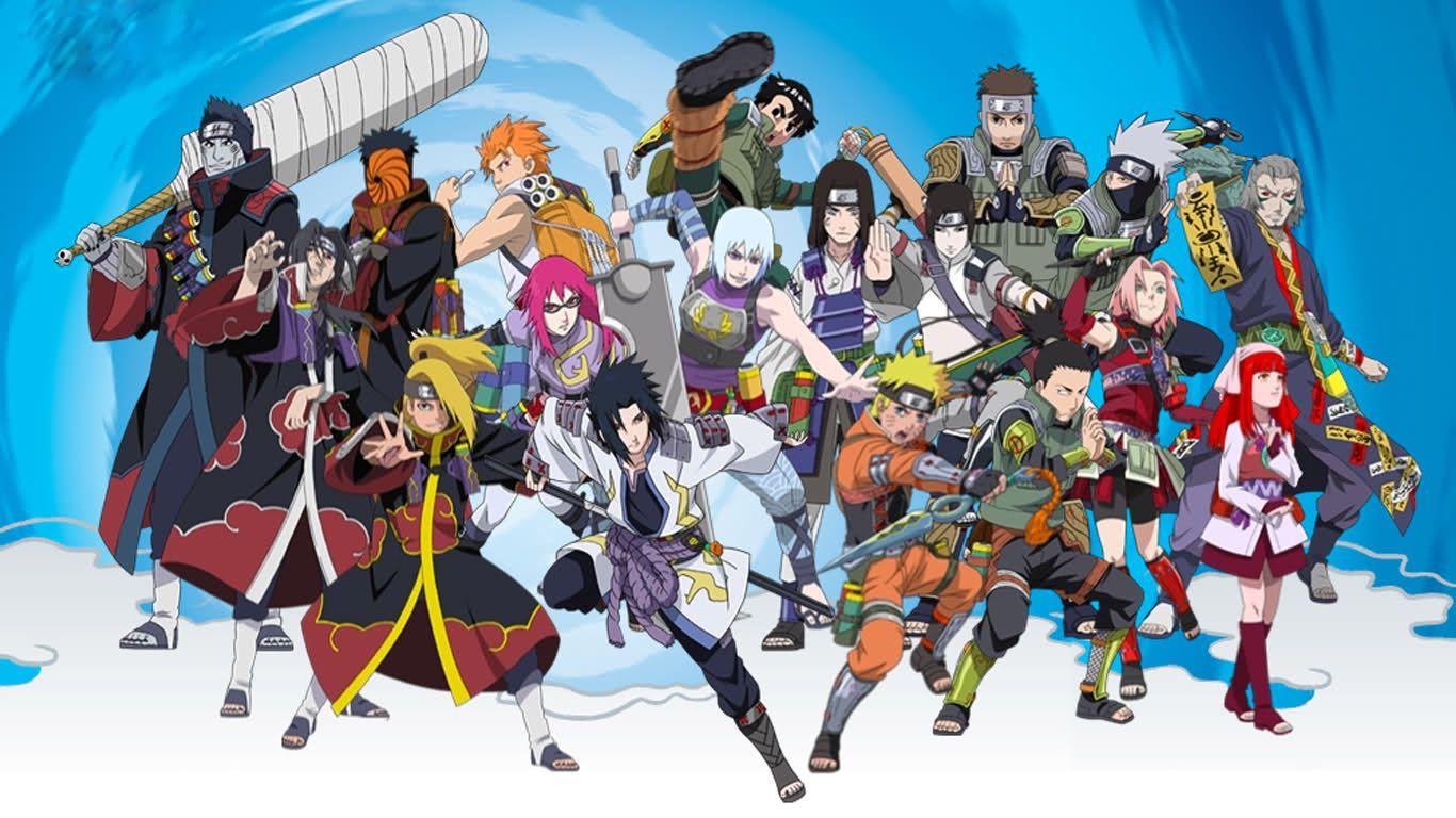 Naruto Characters Wallpapers Top Free Naruto Characters