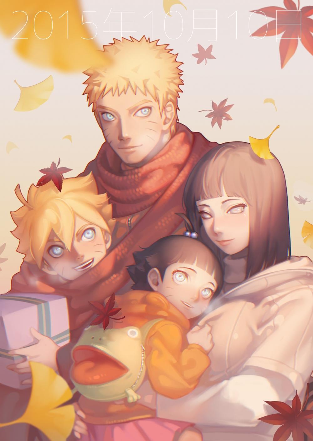 Wallpaper Naruto Uzumaki Family Naruto X Hinata Boruto