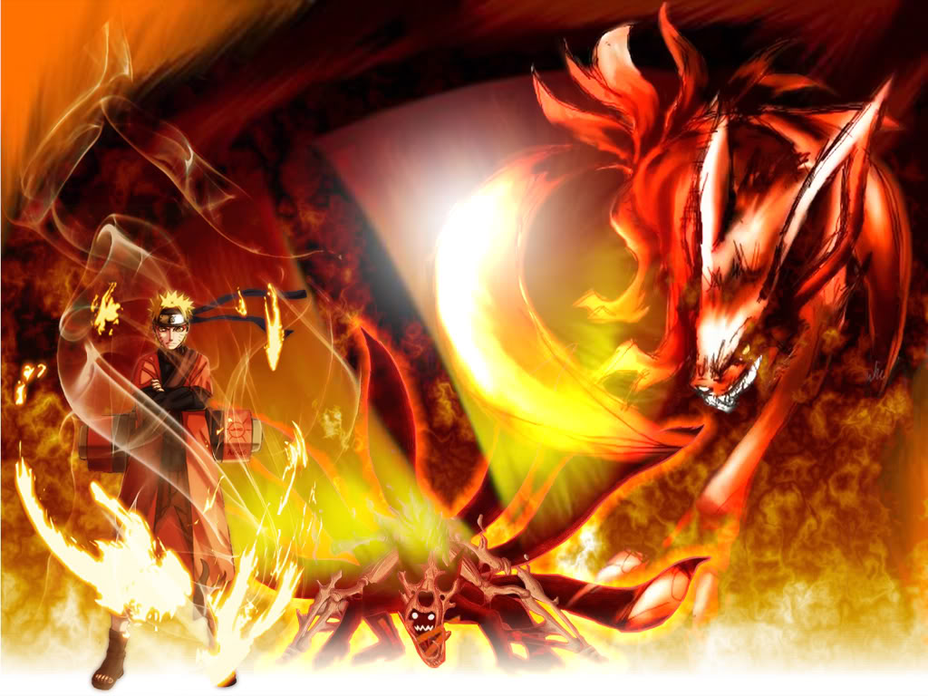 Naruto Kurama Mode Wallpapers Posted By Sarah Tremblay