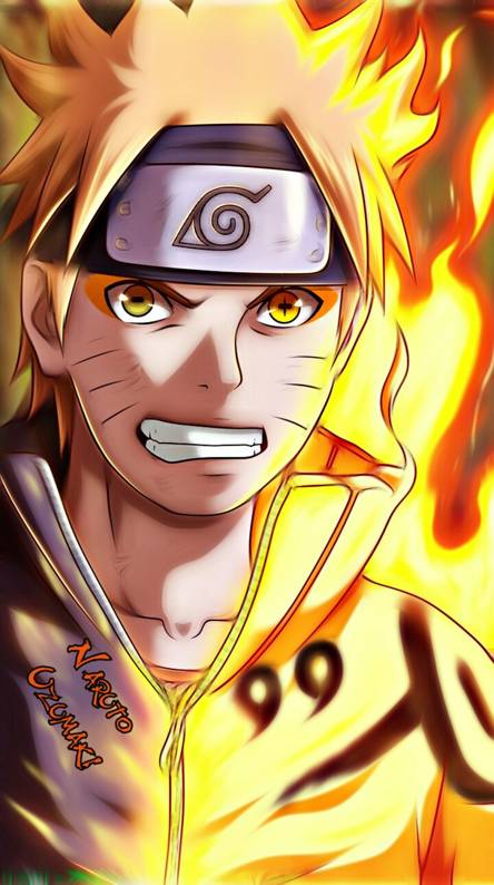 Naruto kyuubi mode Wallpapers Free by ZEDGE