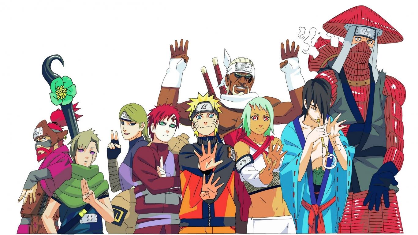 Naruto Uchiha sasuke Naruto shippuden Gaara Naruto
