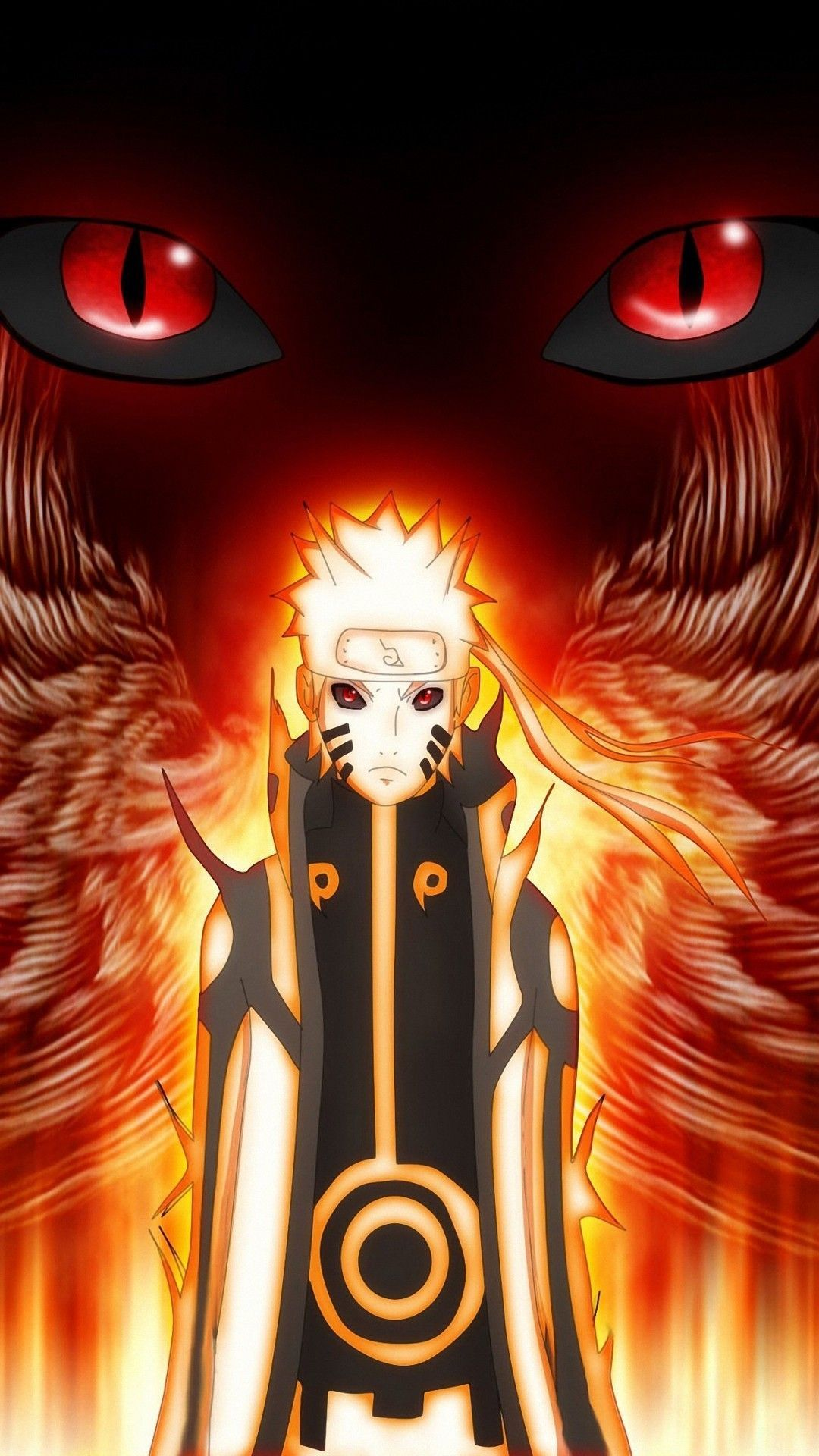 Naruto Nine Tailed Fox Mode