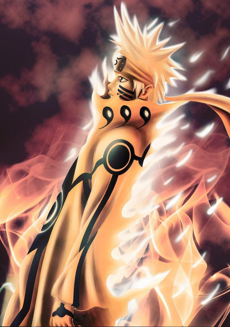 Naruto Nine Tails Mode Wallpaper Freewallanime