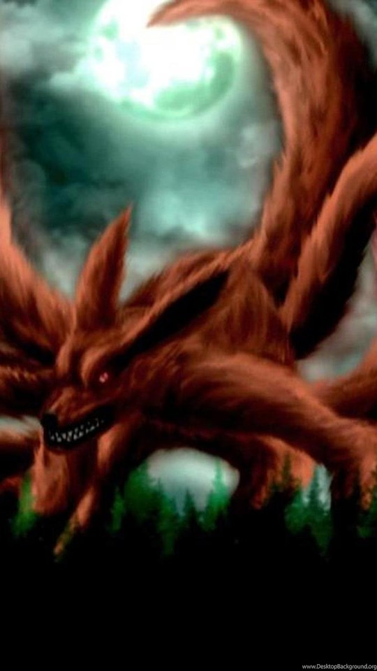 Naruto Nine Tails Wallpapers Wallpapers Cave Desktop Background