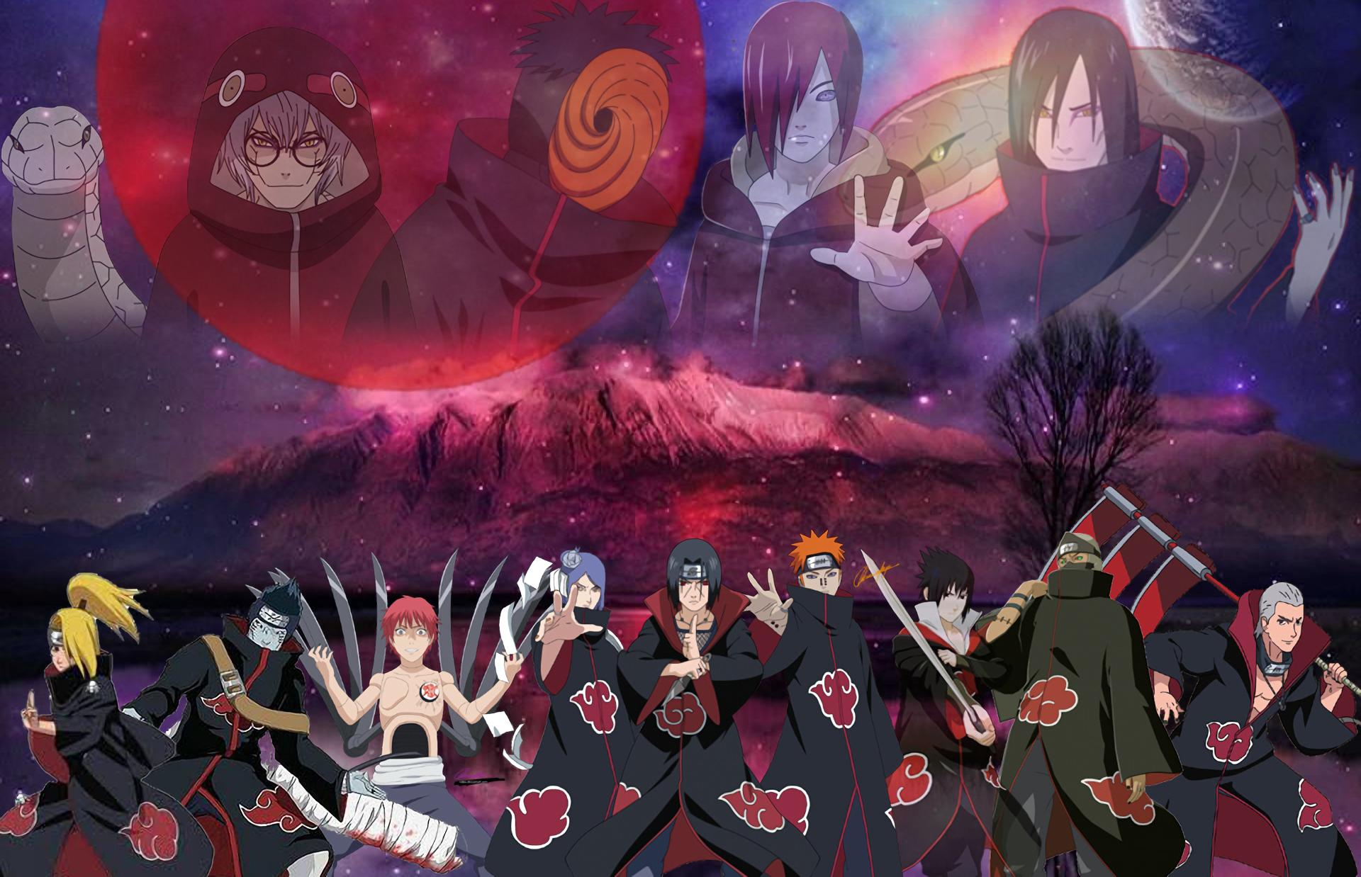 Purple Naruto Pain Wallpaper Drgokhanakturk.com
