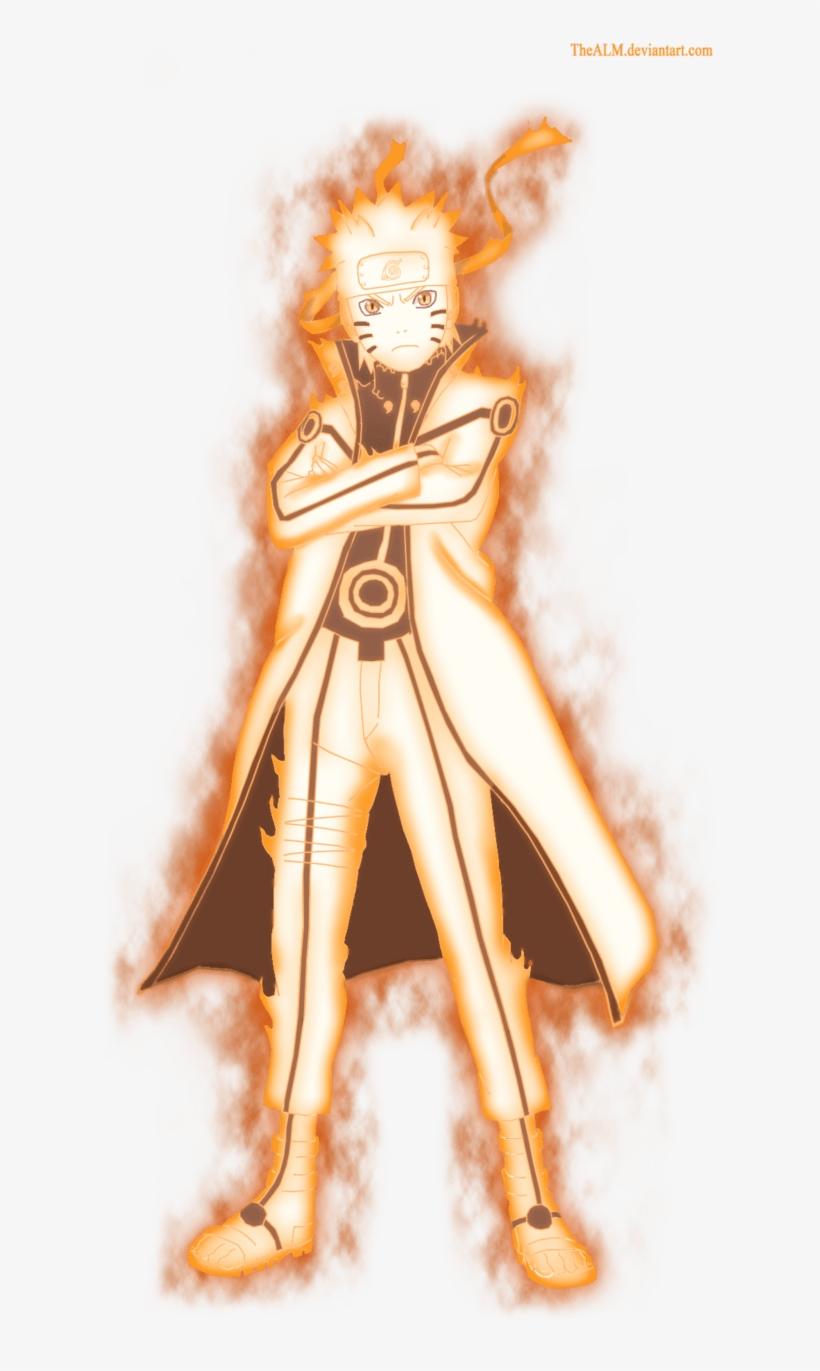 Naruto Nine Tails Chakra Mode By Dattexx On Deviantart
