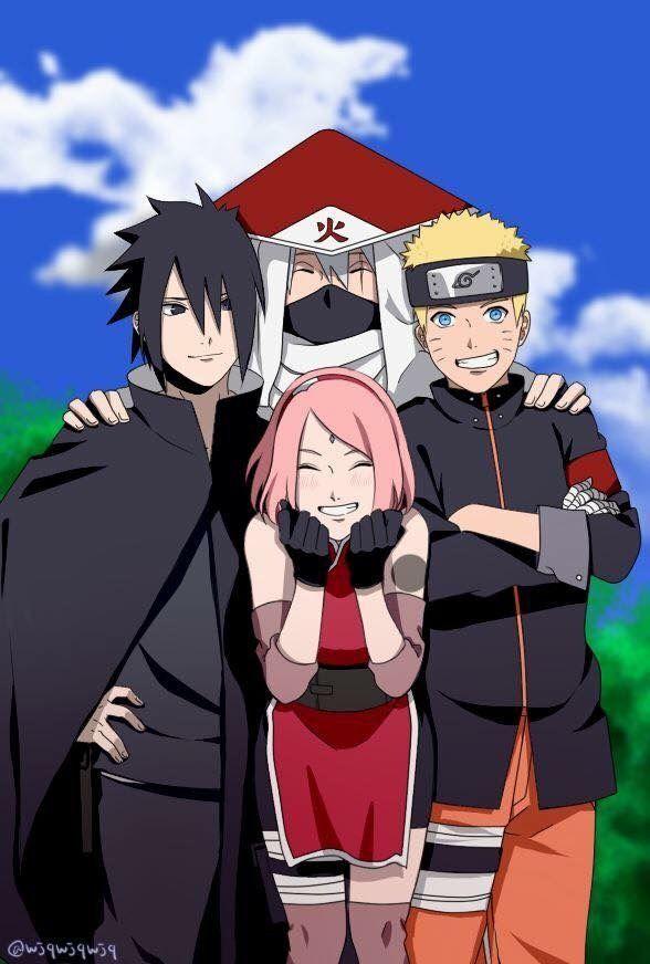 Kakashi Sasuke Naruto Sakura Naruto wallpaper, Naruto