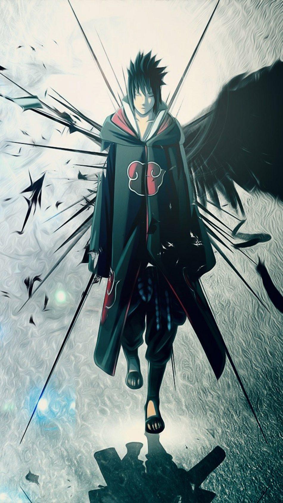 Download Best Quality Naruto Sasuke Uchiha 4K UHD Mobile