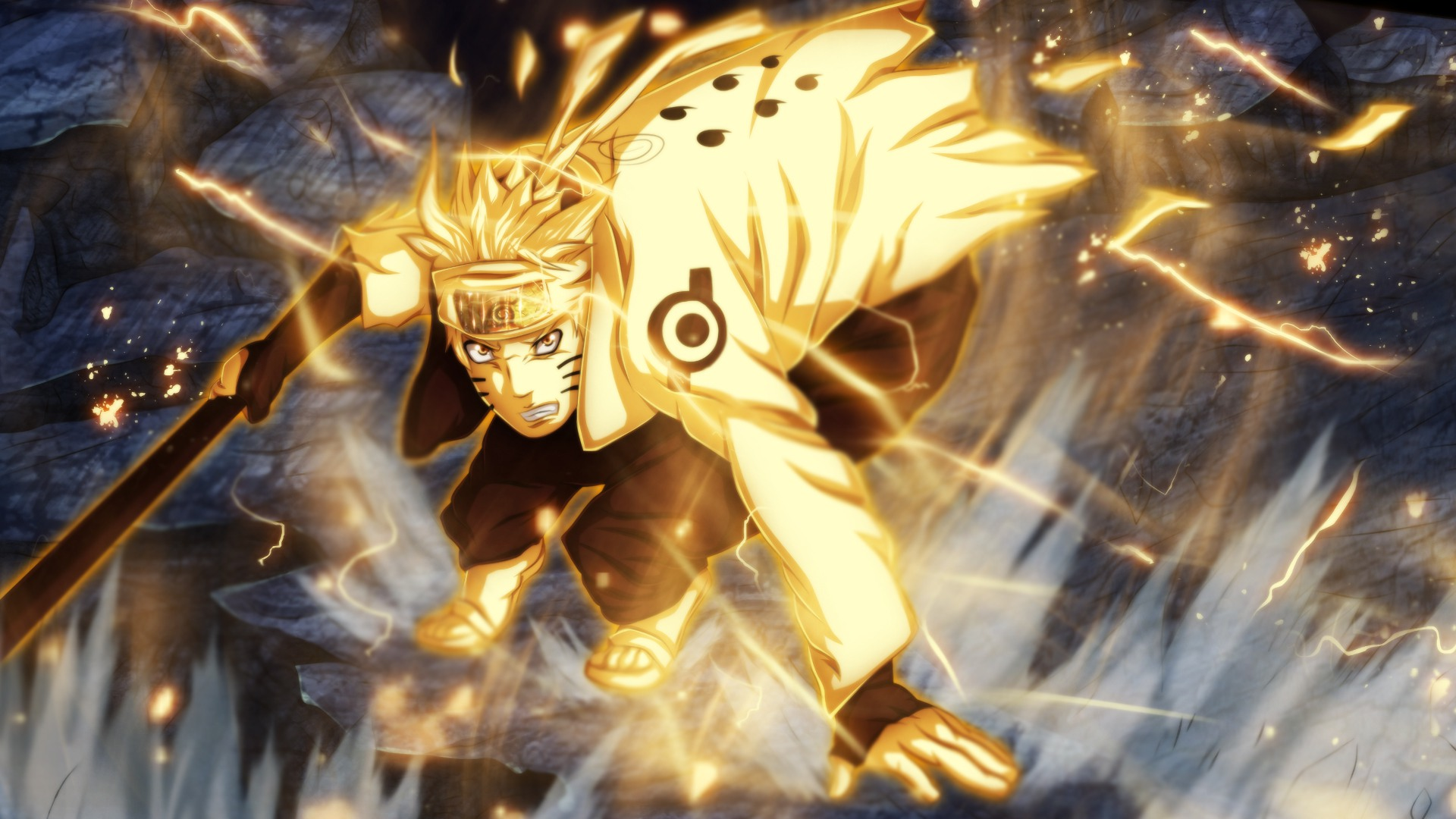 Naruto Six Paths Sage Mode Wallpaper Posted By Samantha Tremblay
