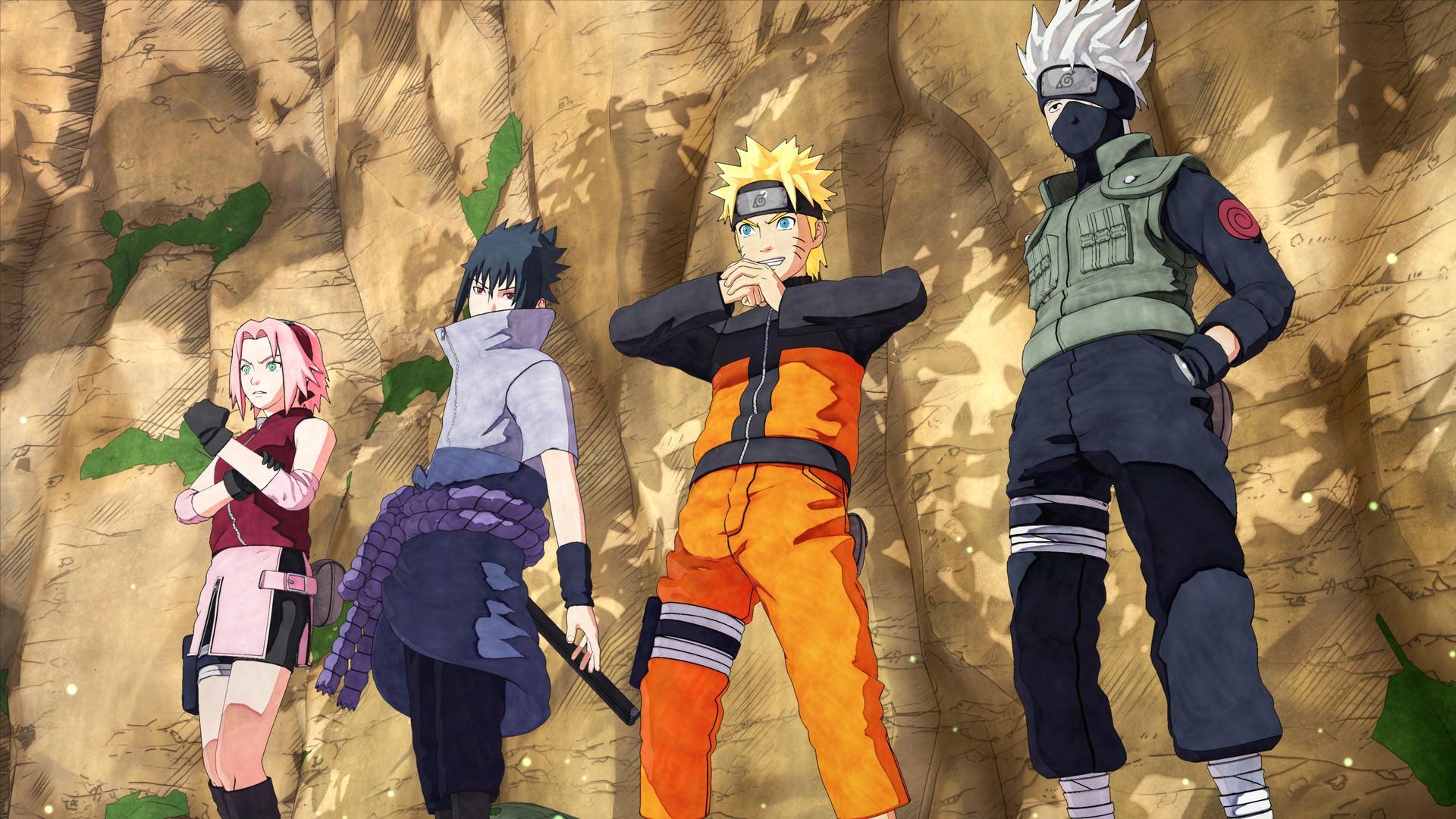 Naruto Team 7 Wallpaper Iphone