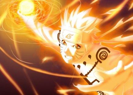 Kyuubi Sage Mode Naruto Anime Background Wallpapers on