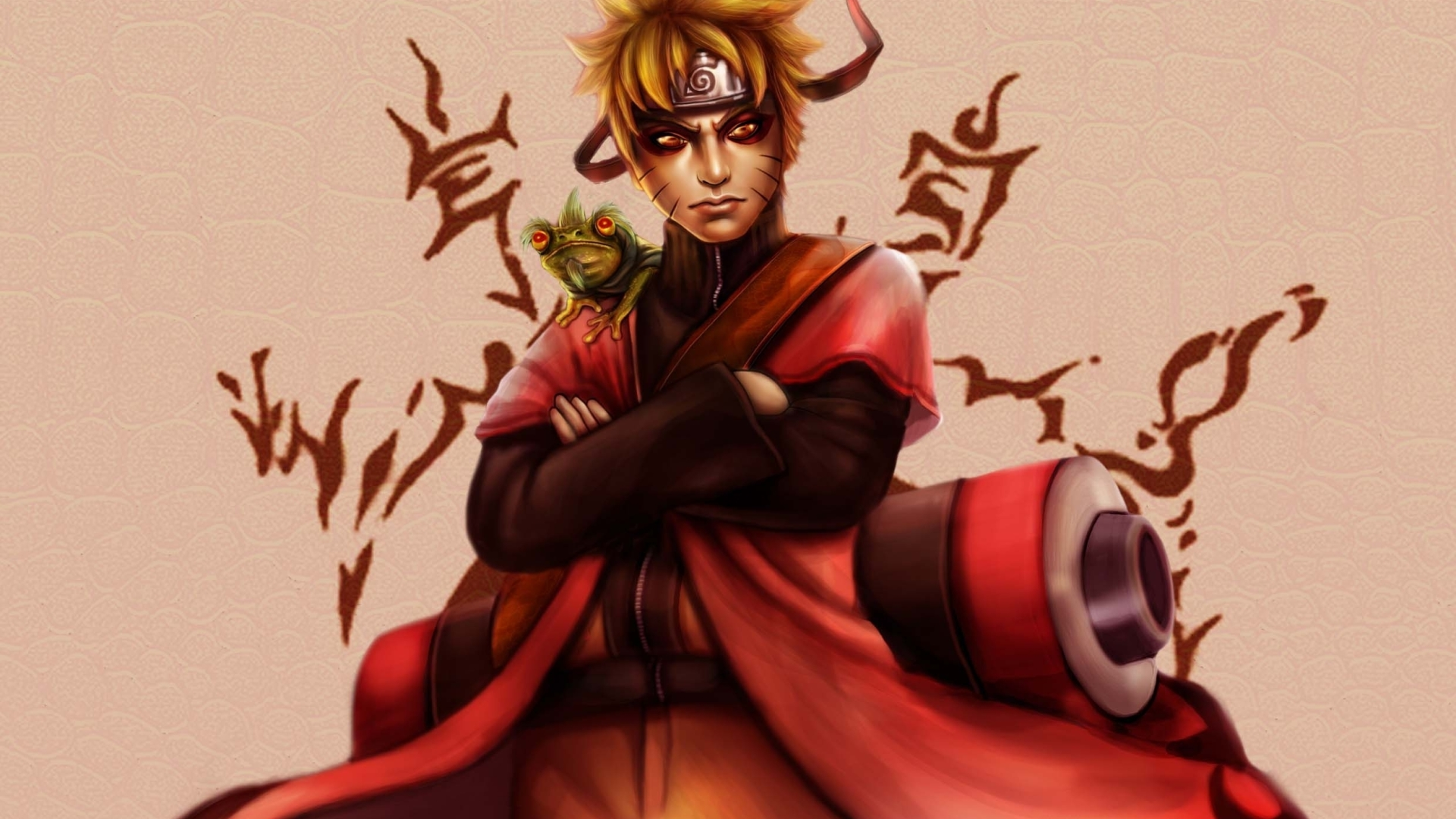 Naruto Sage Mode Uzumaki Naruto HD Wallpaper Background