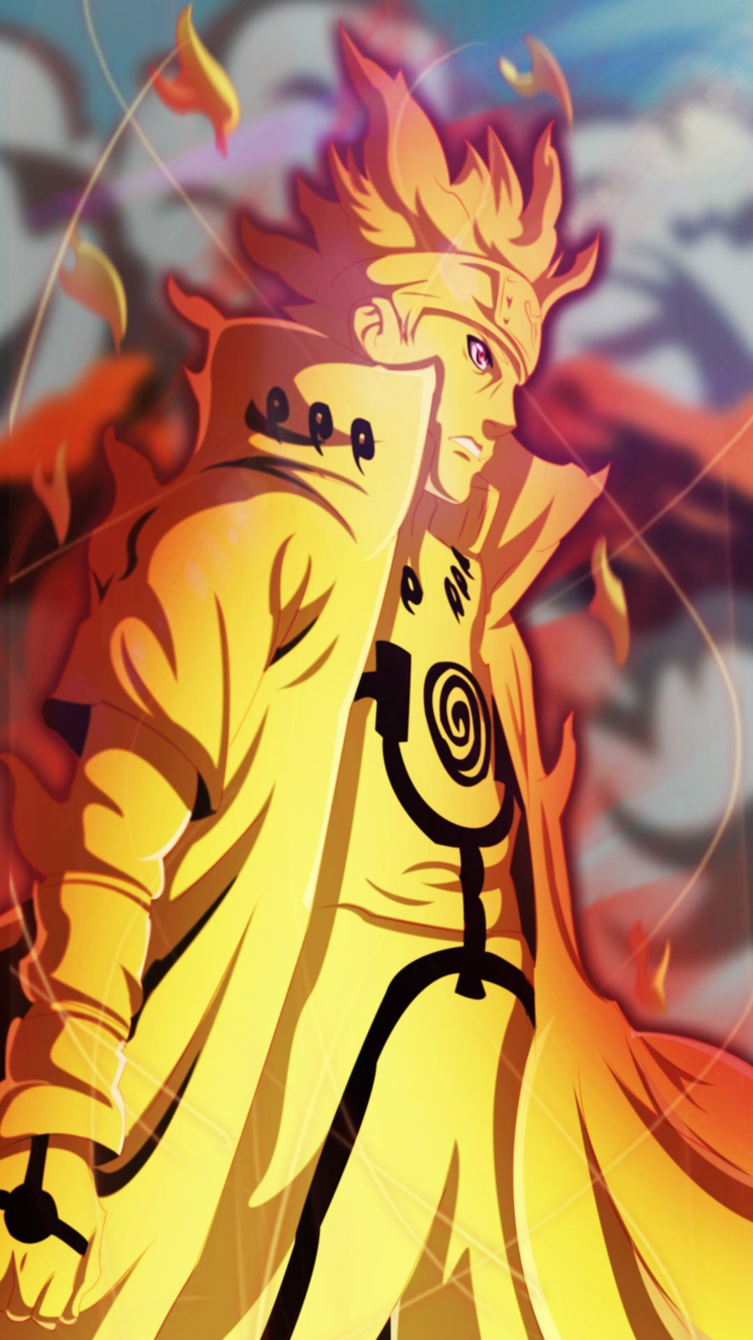 Naruto Uzumaki Sage Mode Wallpapers Wallpaper Cave