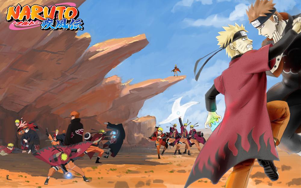 Free download Naruto VS Pain by FinalMayFateAngel 1000x625