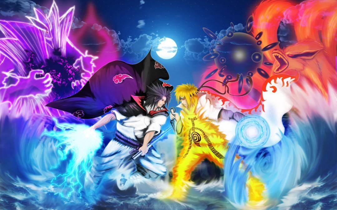 50 Naruto vs Sasuke HD Wallpaper on WallpaperSafari