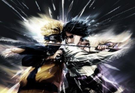 Naruto VS Sasuke Naruto and Anime Background Wallpapers on