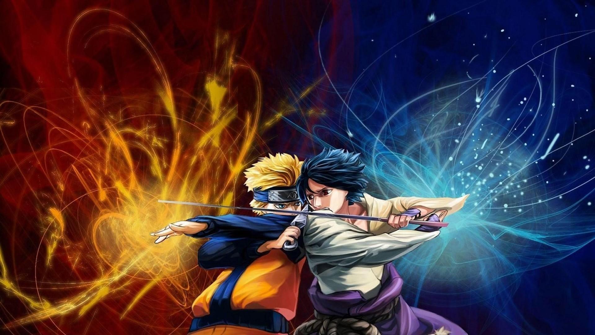 Naruto Vs Sasuke Wallpaper HD 1920x1080
