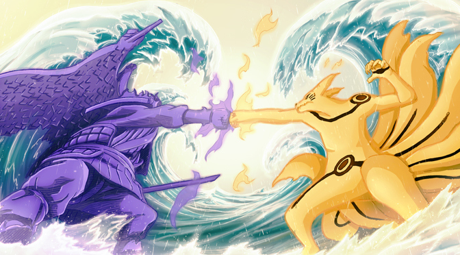 Sasuke vs Naruto The Final Battle Uzumaki Naruto