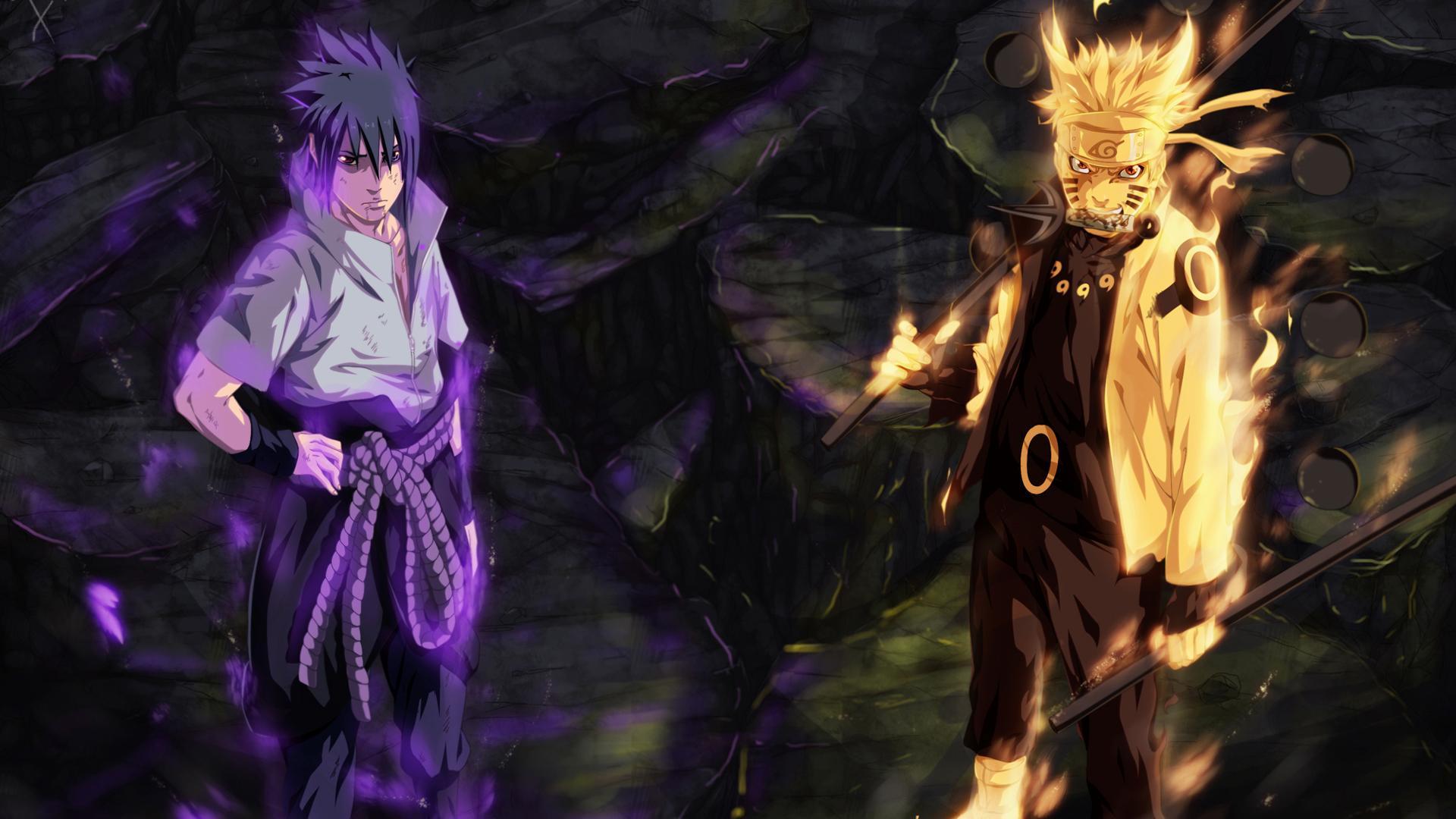 Naruto And Sasuke Desktop Wallpaper Naruto Sasuke